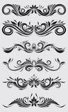 Ornamentale decorativo Immagini Stock