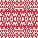 Ornamentale etnico del tessuto Immagini Stock Libere da Diritti