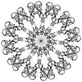 Ornamentale-rete-imposti Immagini Stock