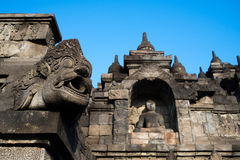 Ornamentation of Borobudur Temple Royalty Free Stock Photography