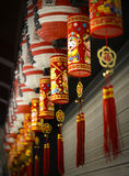 Ornamentation of Chinese New Year Royalty Free Stock Photos