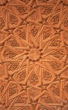 ornamentationvägg Royaltyfri Foto