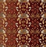 Ornamentbehang (achtergrond) Royalty-vrije Stock Afbeelding