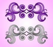 Ornamente. Calligraphic design elements, decorative ornaments Stock Photography