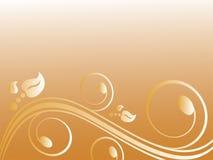 ornamente goldene Стоковые Фотографии RF