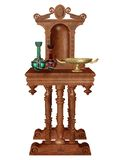 Ornamented altar Royalty Free Stock Images