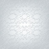 Ornamented background grey Royalty Free Stock Photo