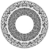 Ornamented circles Royalty Free Stock Photo