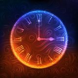 Ornamented clock Stock Photography