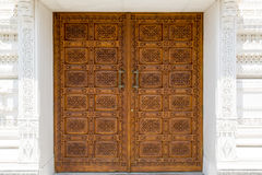 Ornamented door Stock Images