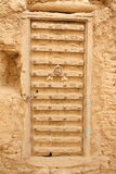 Ornamented door from Yemen Royalty Free Stock Photo