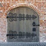 Ornamented doors Royalty Free Stock Photo