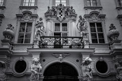 Ornamented Facade Royalty Free Stock Photo