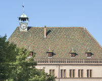 Ornamented roof Stock Photos