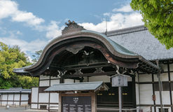Ornamented roofs of Nijo Castle in Kyoto. Stock Image