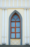 Ornamented window lancet arch of a cathedral in gothic style Royalty Free Stock Photos