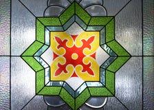 Ornamenten bij de Grote Moskee van Trenggalek stock afbeeldingen