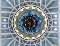 Ornamenten bij de Grote Moskee van Trenggalek royalty-vrije stock foto