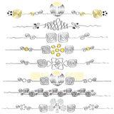 Ornamenten (eps10) Stock Afbeelding