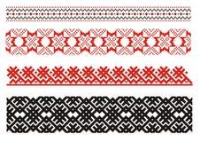Ornamenten. Oekraïens art. Stock Afbeeldingen