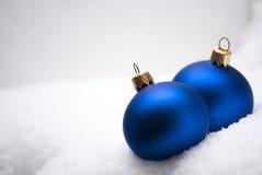 Ornamenten op boom Stock Fotografie