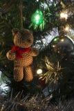 Ornamenten op de boom stock foto