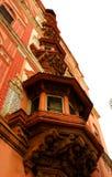 Ornamenten van Sarjah-mahdi bij het complexe paleis van thanjavurmaratha Royalty-vrije Stock Foto's