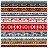 Ornamenti illustrazione vettoriale