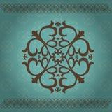 Ornamenti asiatici kazaki Immagine Stock