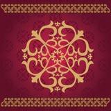 Ornamenti asiatici kazaki Immagine Stock Libera da Diritti