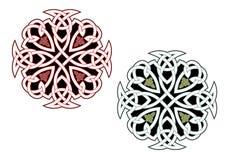 Ornamenti celtici Fotografia Stock