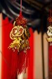 Ornamenti cinesi Fotografie Stock Libere da Diritti