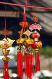 Ornamenti cinesi Fotografia Stock