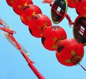 Ornamenti cinesi di nuovo anno Fotografia Stock Libera da Diritti