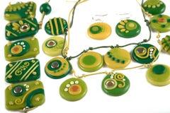 Ornamenti dall'argilla del polimero Fotografia Stock