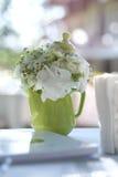 Ornamenti dei fiori per l'evento di nozze Fotografia Stock Libera da Diritti