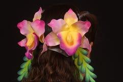 Ornamenti del fiore Fotografia Stock