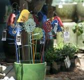 Ornamenti del giardino Fotografia Stock