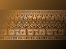 Ornamenti del greco antico. Fotografie Stock Libere da Diritti