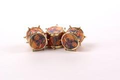 Ornamenti del tamburo immagine stock