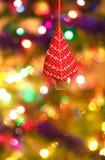 Ornamenti dell'albero di Natale Fotografia Stock