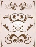 Ornamenti dell'annata Immagini Stock