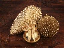 Ornamenti dell'oro Fotografia Stock Libera da Diritti