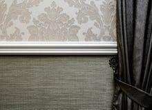 Ornamenti della carta di parete dell'hotel Immagine Stock Libera da Diritti