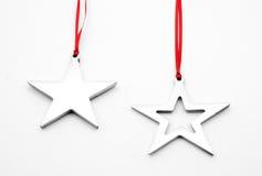 Ornamenti della stella immagine stock