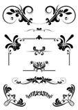 Ornamenti di disegno Fotografie Stock