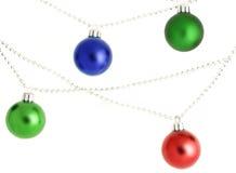 Ornamenti di natale immagini stock libere da diritti