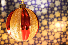 Ornamenti di natale Fotografie Stock
