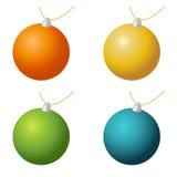 Ornamenti di Natale Royalty Illustrazione gratis