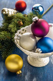 Ornamenti di Natale fotografia stock